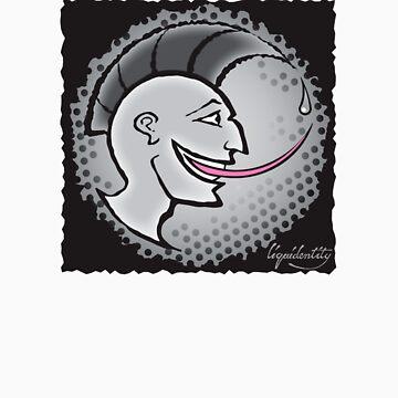 Grunge Punk Head Tee / T-shirt by liquidentity
