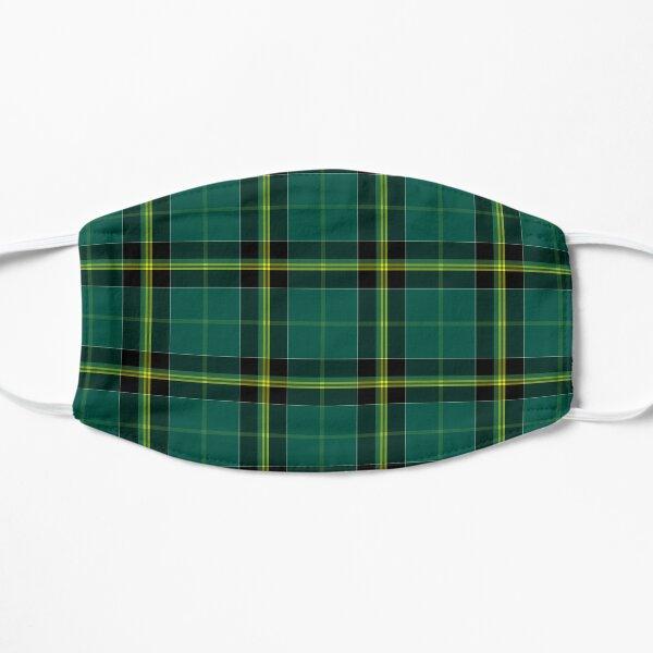 Duffy Tartan Pattern Green Irish Plaid Flat Mask