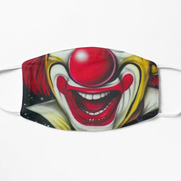 Funny Clown Face Mask Flat Mask