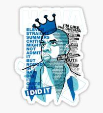 Jay-Z Eleven Straight Summers Sticker