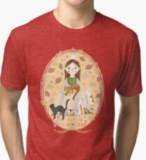 Katzenliebhaber Vintage T-Shirt