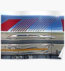 'Motorway reflection'  Poster