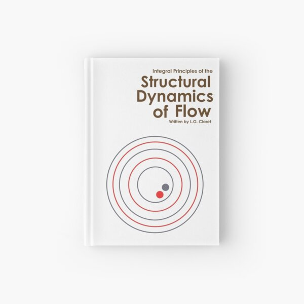 The Structural Dynamics of Flow in White Hardcover Journal