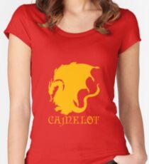 Camelot Souvenir Tee Women's Fitted Scoop T-Shirt