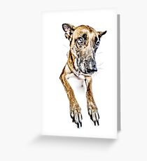 Do you looooove me? Greeting Card