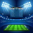 Football Stadium Background Sticker By Aurielaki Redbubble