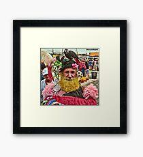Many Faces Of The Coney Island Mermaid Parade -1 Framed Print