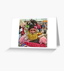 Many Faces Of The Coney Island Mermaid Parade -1 Greeting Card