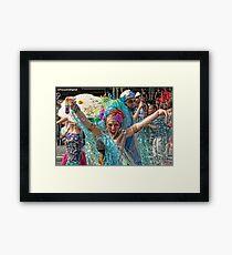 Many Faces Of The Coney Island Mermaid Parade -4 Framed Print