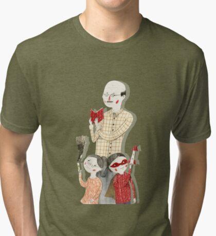 Family Portrait IV Tri-blend T-Shirt