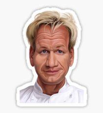 Celebrity Sunday - Gordon Ramsey  Sticker