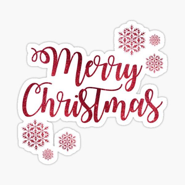 Merry chrismas Sticker