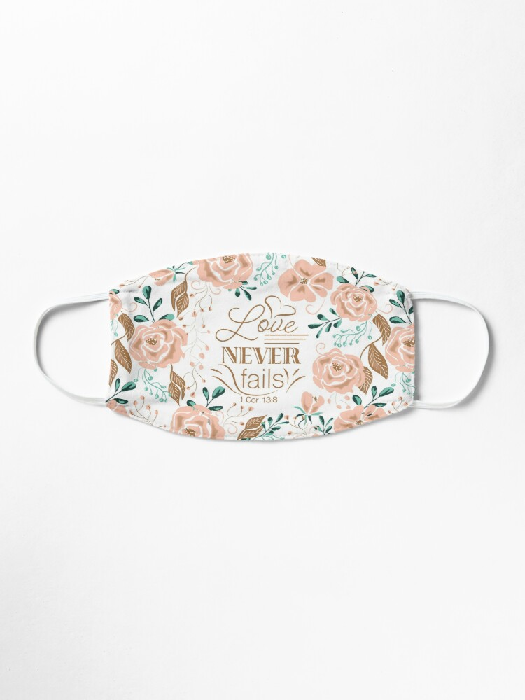 Alternate view of Love Never Fails Mask