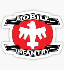 Mobile Infantry Sticker