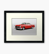 1956 Chrysler Windsor 'Highway Cruiser' Framed Print