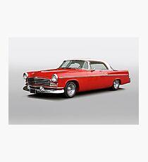 1956 Chrysler Windsor 'Highway Cruiser' Photographic Print