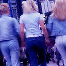 Blue jeans by LAURANCE RICHARDSON