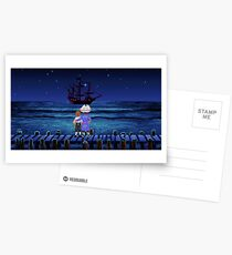 Guybrush & Stan (Monkey Island) Postcards