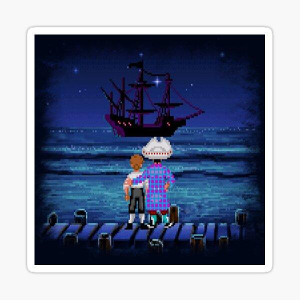 Guybrush & Stan (Monkey Island) Sticker