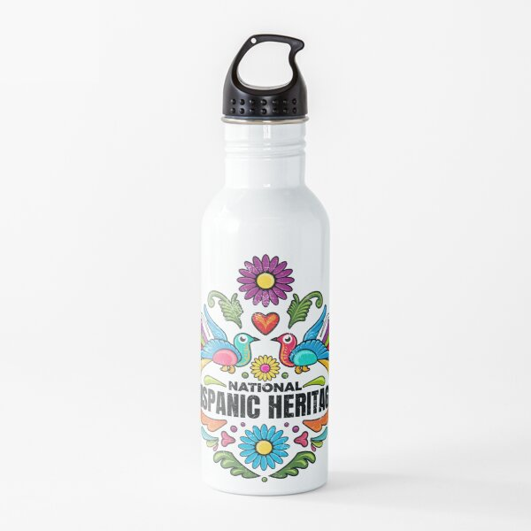 National Hispanic Heritage Month Water Bottle