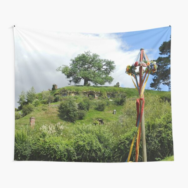 Bag End with a Maypole Tapestry