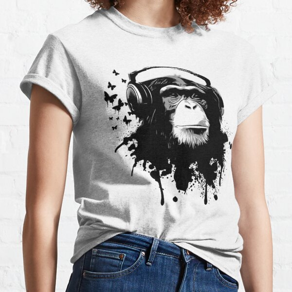 Monkey Business - Black Classic T-Shirt