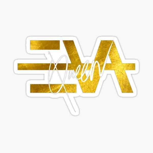 Eva Queen Logo Sticker