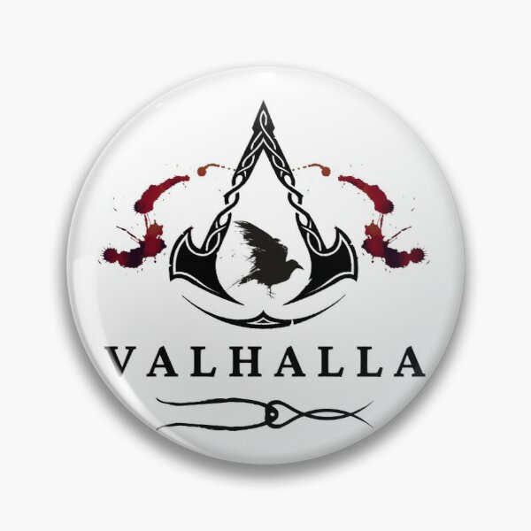 Assassins Creed Valhalla Scarlet Pin By Thorosthor Redbubble
