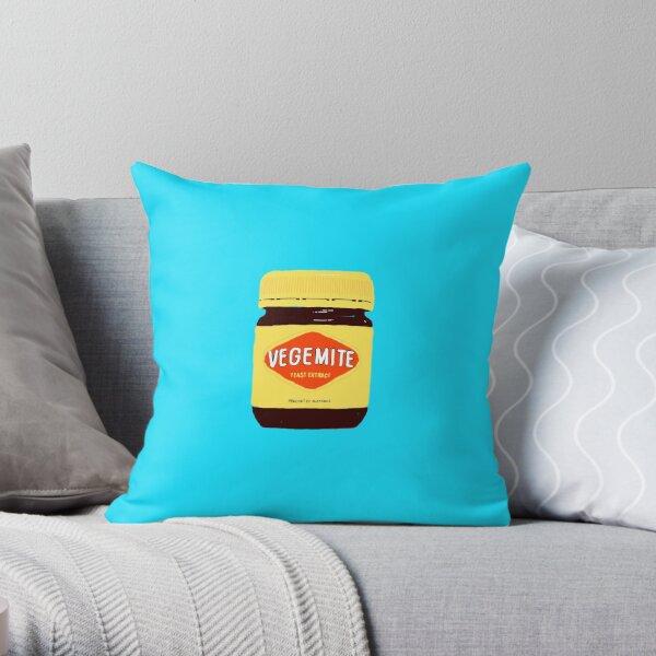 Vegemite Throw Pillow