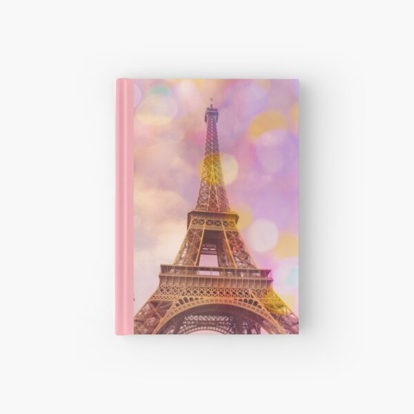 Eiffel Tower Sunset Hardcover Journal