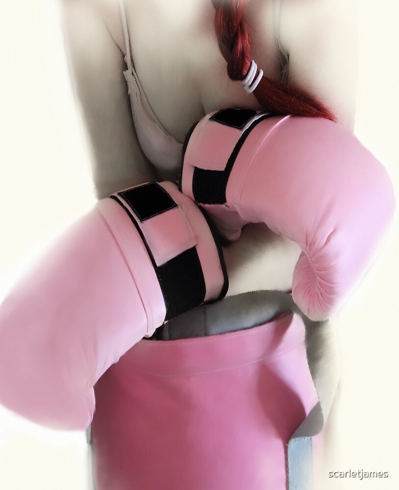 BOXER GIRL IN THE PINK  by scarletjames