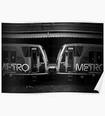 Metro Trains Poster