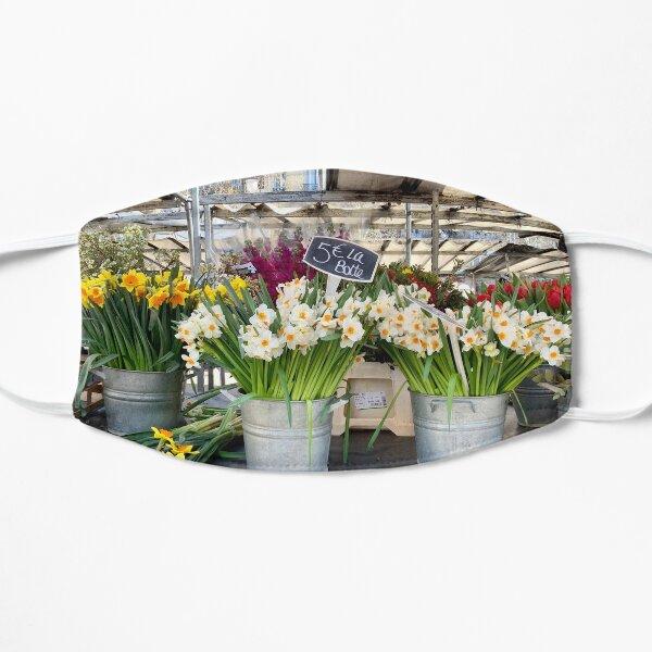 Paris: Spring Flowers at the Bastille Market Mask