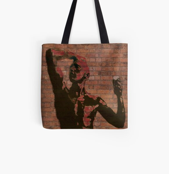 brazen All Over Print Tote Bag