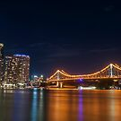 The Brisbane River by D Byrne