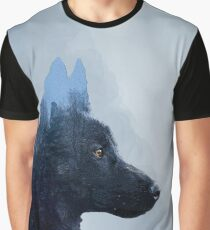 Double Exposure: Canon - Portrait Graphic T-Shirt