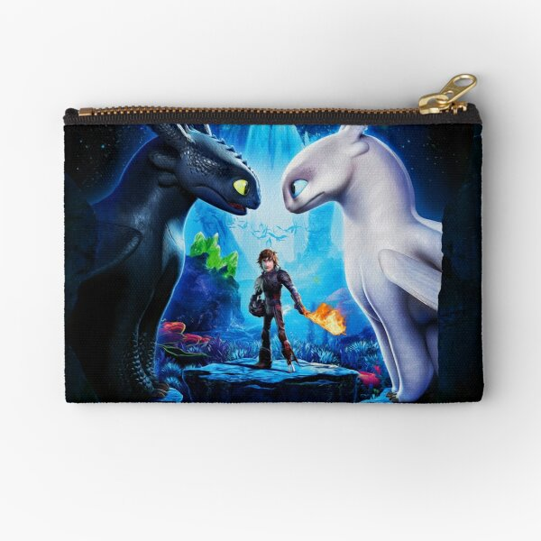 How to train Your Dragon The Hidden World Oil Base Zipper Pouch