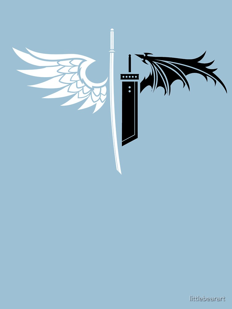 Final Fantasy 7 Sephiroth Men/'s T Shirt 100/% Cotton Made In USA One Winged Angel