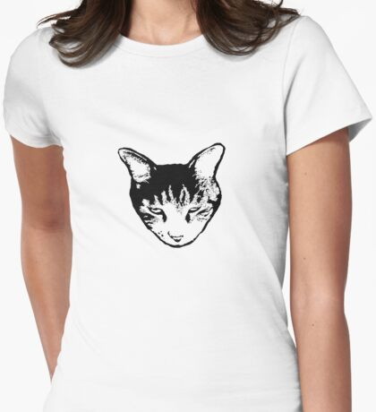 Cat Head tee dark version T-Shirt