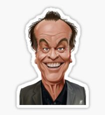 Celebrity Sunday - Jack Nicholson Sticker