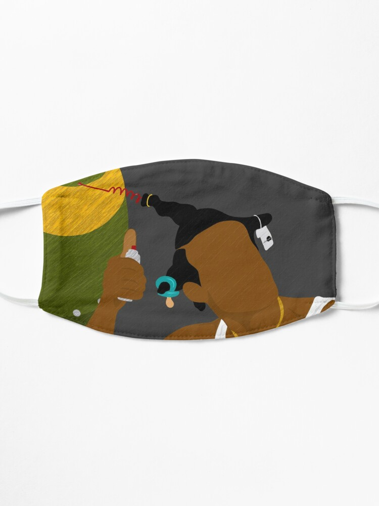 Alternate view of Do We Have A Problem Mask
