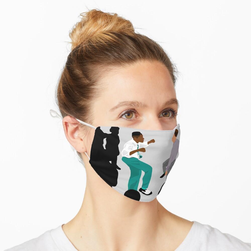 Kick Step Mask