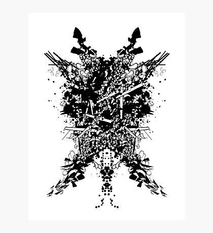 Abstract no. 7 Photographic Print