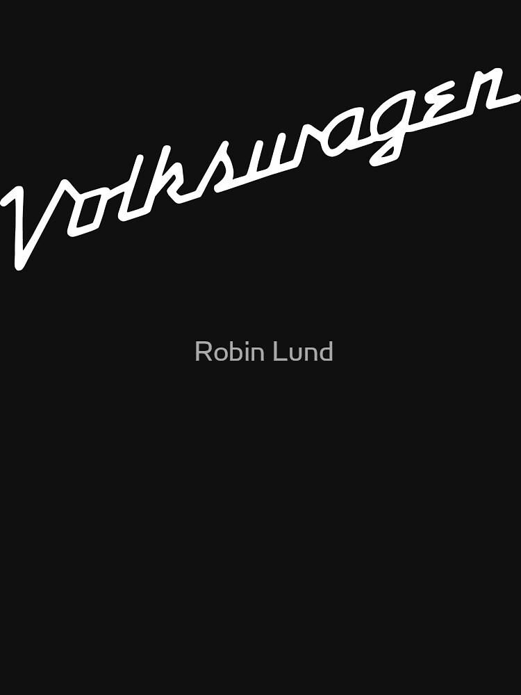 Classic VW hood script lettering | Unisex T-Shirt
