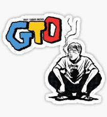 GTO Smoking Sticker