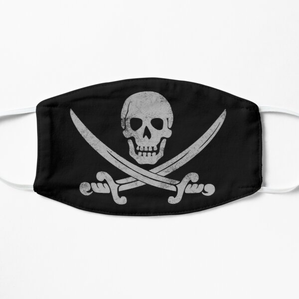 Faded Pirate Mask