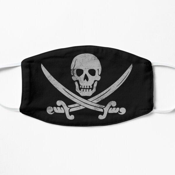 Faded Pirate Flat Mask