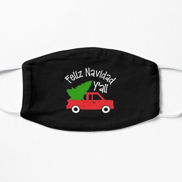Feliz Navidad Quote Christmas Truck Spanish Hispanic Pride  Flat Mask