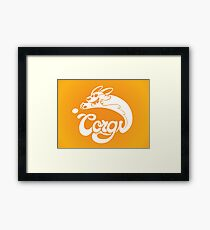 Corgi! Framed Print