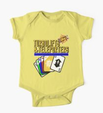 Turbolifts and Teleporters One Piece - Short Sleeve